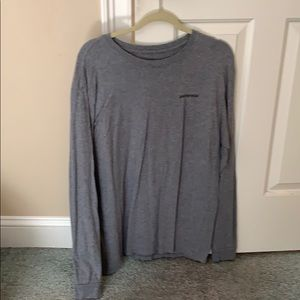 Patagonia long sleeve men's T shirt